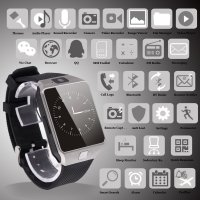 [US Deals]Airsspu Tm Bluetooth Smart Watch Wrist Watch Phone with Camera Touch Screen Mate for Samsung Galaxy Iphone